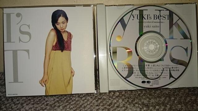 KF 斉藤由貴 CDアルバム YUKI's BEST (ユキ ベスト) < タレントグッズの