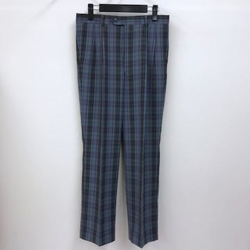 【新品】 マンシングウェア チェック柄 パンツ レトロ古着系も
