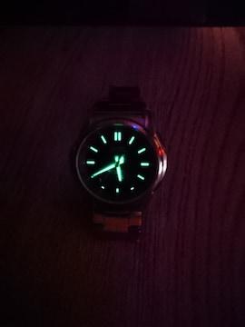 CASIOソーラー電波時計☆カシオ腕時計 太陽充電☆ソーラーパワー
