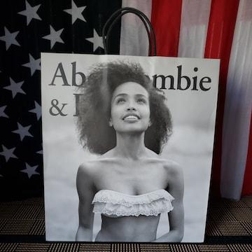 【アバクロ★ショップ袋】Abercrombie&Fitch♪表裏デザイン違い