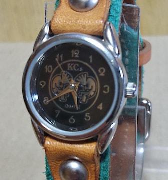 電池新品 KC,s ケイシイズ KSR546 腕時計 レディース エメラルド