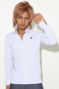 RECYCLAGE(ルシクラージュ)佐藤歩着チェリードットシャツ/L