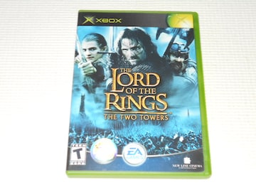 xbox★THE LORD OF THE RINGS THE TWO TOWERS 海外版