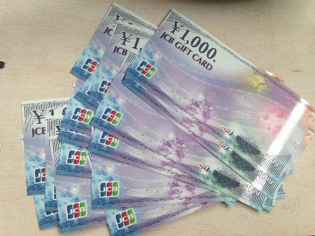 新品 JCBギフトカード 10000円