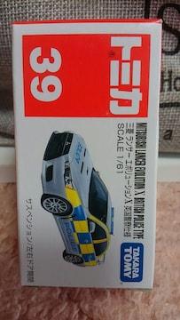 トミカ 旧39 三菱 ランサーエボリューションX 英国警察仕様 初回箱 未開封 新品
