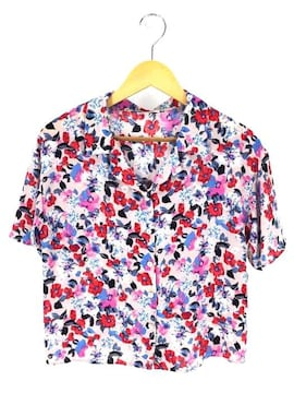 Lily Brown(リリーブラウン)ヴィンテージフラワーシャツシャツ・ブラウス