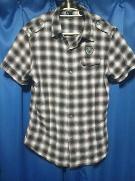 Russ・K◇ラスケー◇チェックシャツ(半袖)