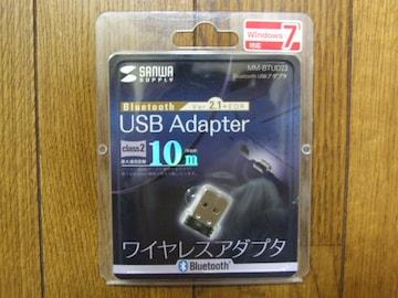 サンワサプライ Bluetooth USBアダプタ(MM-BTUD23) 新品!