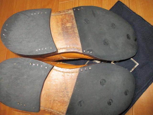 トリッカーズ モールトン カントリー ブーツ 25,5 26 < ブランドの