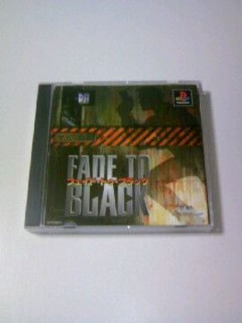PS フェイド トゥ ブラック / プレイステーション ガンシューティング ゲームソフト