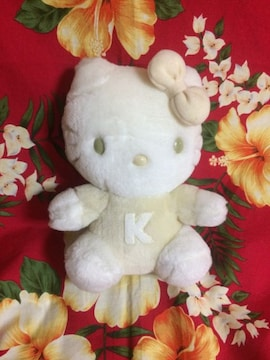 キティちゃんぬいぐるみ☆ホワイトキティ☆
