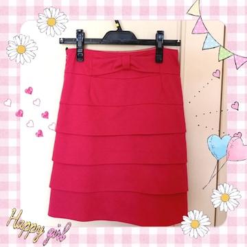 リボン付き ピンクのスカート♪