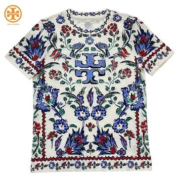 新品トリーバーチ プリントTシャツ #XS TORY BURCH