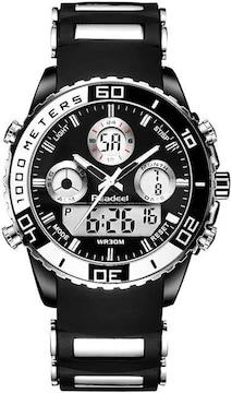 超オススメ★ベストセラー LEDクロノグラフ軍事腕時計