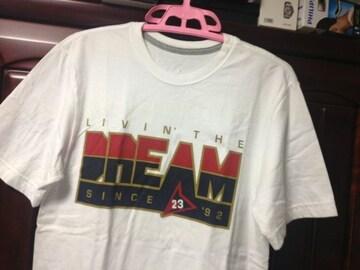 nike jordan live'n the DREAM Tシャツ