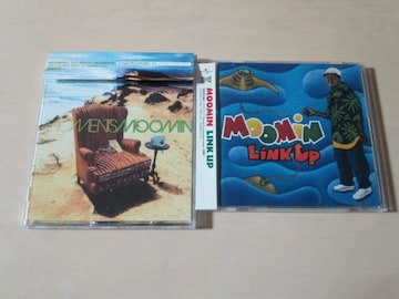 ムーミンCD「MOOMIN」「LINK UP」2枚セット★レゲエ