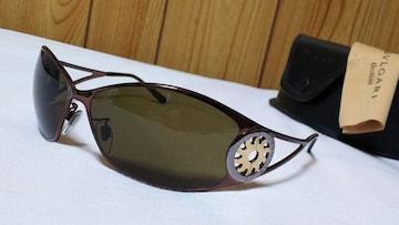 正規美 限定 Gackt着 ブルガリ トンドサンメタルサングラス 茶系×ブロンズメタリック