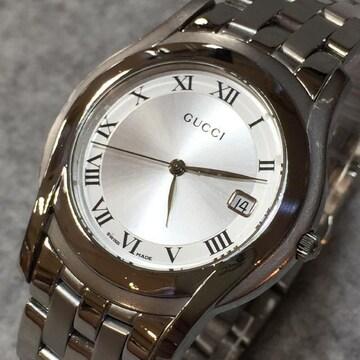 GUCCI 正規メンズ腕時計 5500M