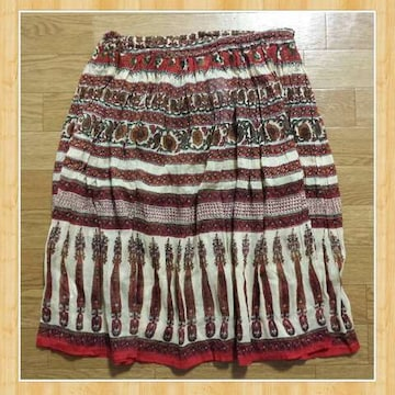 MALAIKA マライカ 新品 クリンクルスカート エスニックファッション