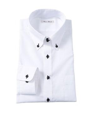 3Lサイズ!形態安定!高貴紳士的!長袖ワイシャツ(ドゥエボタンダウン)新品!