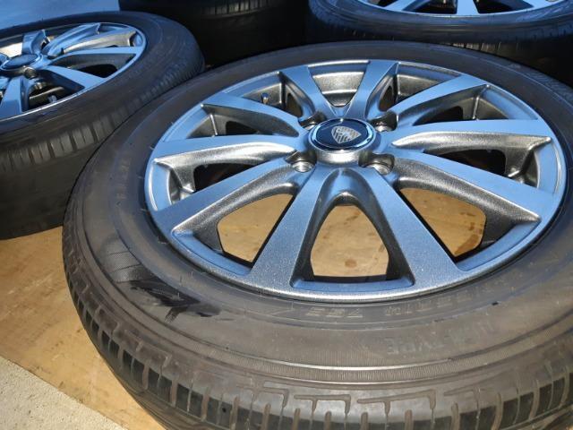 155/65R14 夏タイヤ、アルミホイール付4本セット < 自動車/バイク