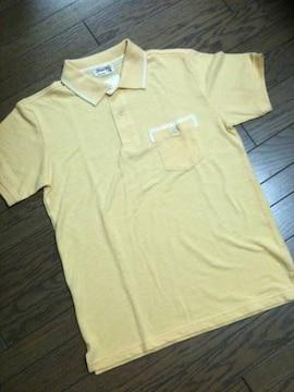 新品GLOBAL WORK ポロシャツ イエロー グローバルワーク