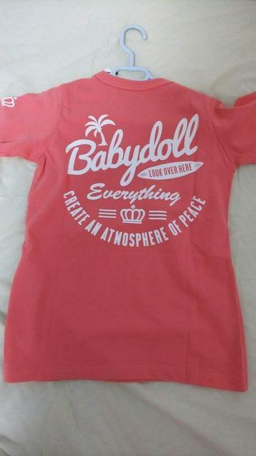 ベビードール BABY DOLL Tシャツ 新品 140 ピンク系 < ブランドの