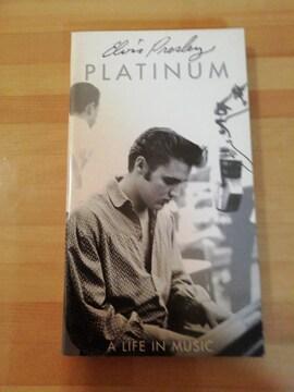 エルヴィスプレスリー PLATINUM A LIFE IN MUSIC 4CDセット