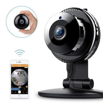 ワイヤレス 120度レンズ 高画質 iPカメラ WiFi