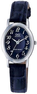 Q&Q 腕時計 VZ89-305  防水 紺