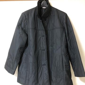 軽い 黒キルティングコート M〜Lサイズ