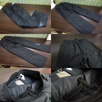 S 黒)アディダス ウィンドブレーカーパンツ DUQ94 中綿入りロングパンツ adidas