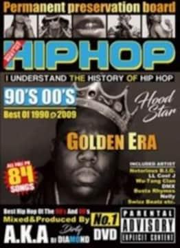 90-00骨太HIPHOP◆2枚組84曲 Hiphop 90's 00's Golden Era