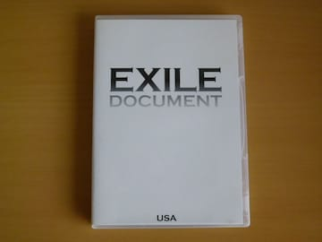DVD EXILE DOCUMENT USA / DVD 1枚