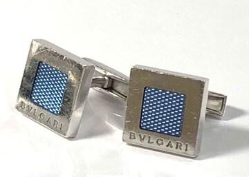 正規ブルガリBVLGARIカフスボタンSV925カフス銀製スクエア