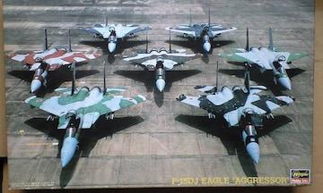 """1/48 ハセガワ 航空自衛隊 F-15DJ イーグル """"アグレッサー"""""""