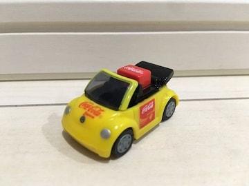 プルバックミニカー VW フォルクスワーゲン コカ・コーラ コカコーラ チョロQ イエロー B 黄色