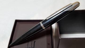 正規 アルフレッドダンヒル ギャラクシーラメ グラマラスボールペン 紺 シルバー 筆記 黒