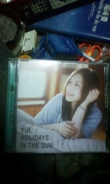 YUICD「HOLIDAYS IN THE SUN」初回限定版