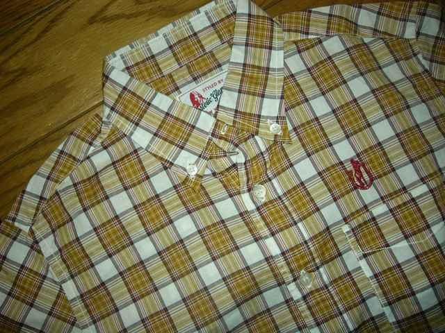 新品HYSTERICGLAMOURヒステリックグラマー半袖チェックシャツS黄 < ブランドの