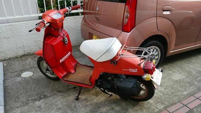 初期型 タクト AB07 12V DJ-1Rエンジン < 自動車/バイク