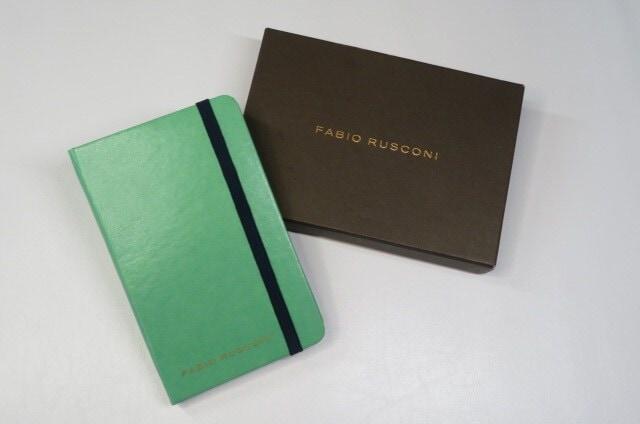 【未使用】FABIO RUSCONI ファビオルスコーニ ノート   < ブランドの