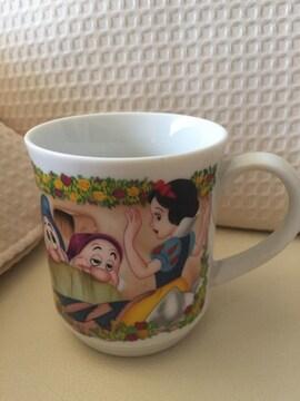 983.未使用☆レトロマグカップ☆かなり昔のディズニーランド