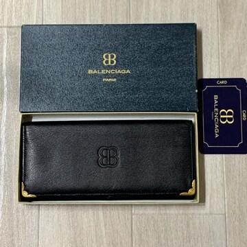 【新品希少】バレンシアガ札入れ 箱、ギャランティ完備品