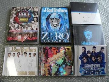 三代目 J Soul Brothers【TRIBAL/MIRACLE/BEST/PLANET】初回4枚