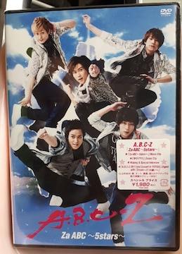 新品A.B.C-Z/Za ABC〜5stars〜DVD