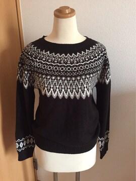 美品 アースミュージックアンドエコロジー セーター
