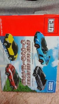 トミカ オープンカーセレクション 4台set 未開封 新品 販売終了品 ランボルギーニ他