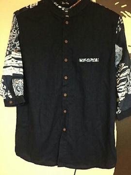 インディゴ  シャツ