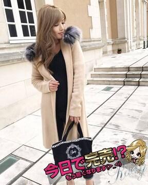 Rady☆ファーフードニットコート